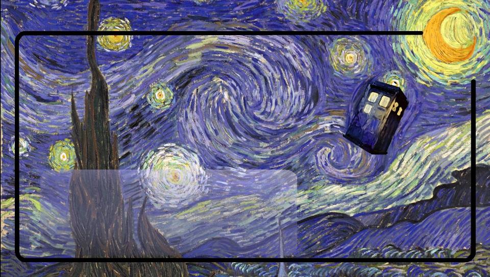 Doctor Who Wallpaper Tardis Van Gogh Tardis van gogh ps vita
