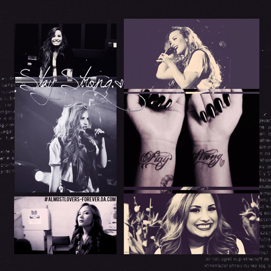 Demi Lovato Stay Strong gif by almostlovers forever 894x894