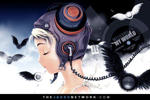 Last Exile   Welcome To My World   Desktop Wallpaper The JADED 500x333