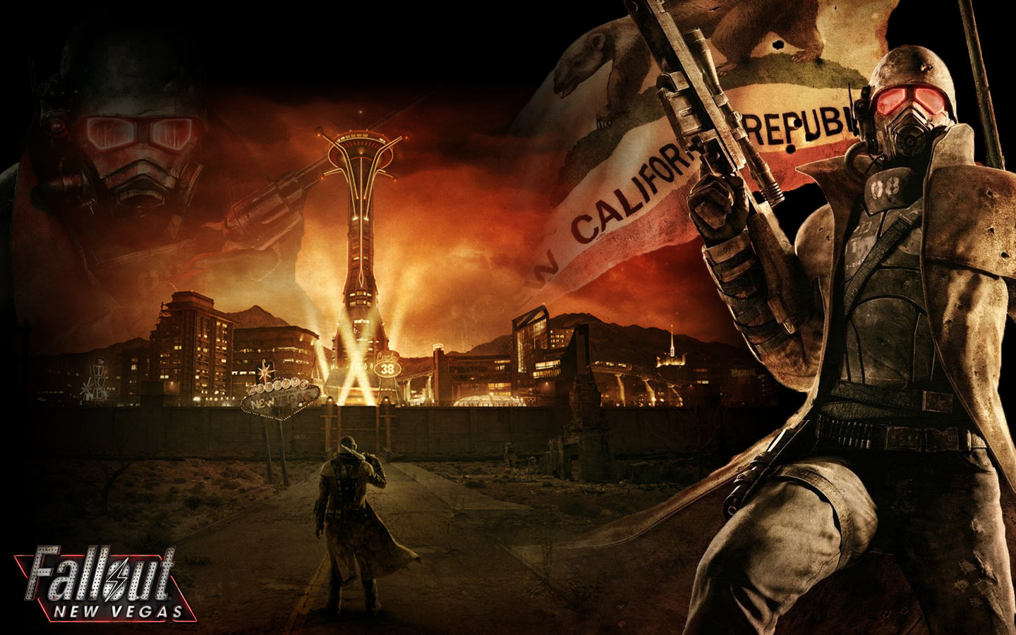 41 Fallout New Vegas Wallpaper Widescreen On Wallpapersafari