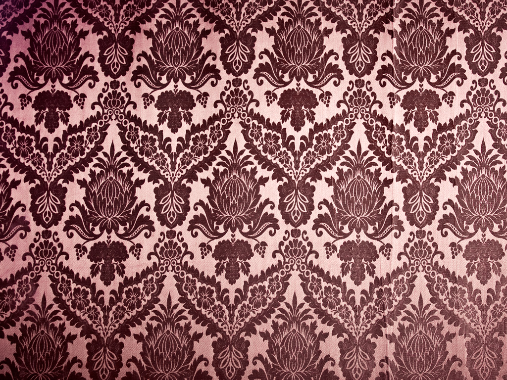 Royalty Stock Images   Vintage Damask Wallpaper Textures 1024x768