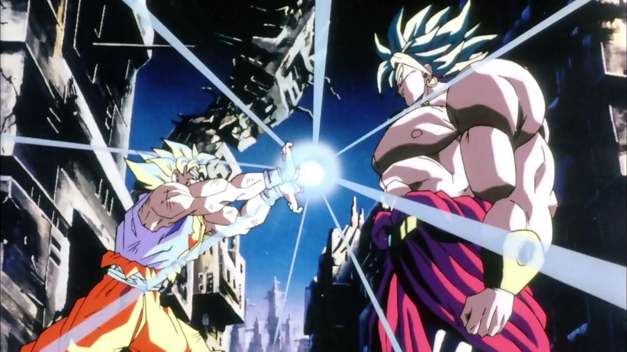Goku Vs Broly Wallpaper Wallpapersafari