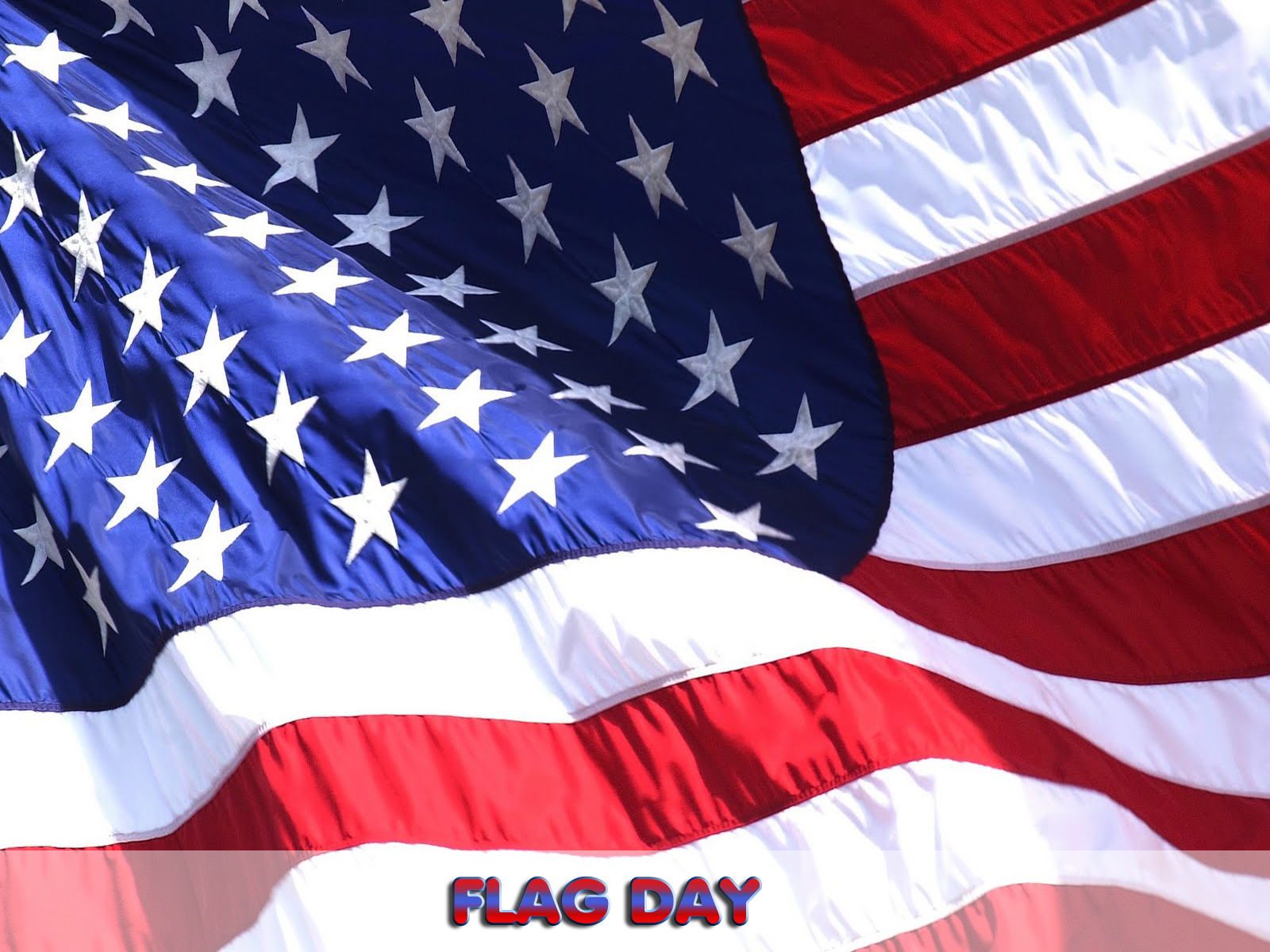 National United States Flag Day computer desktop wallpapers 1600x1200