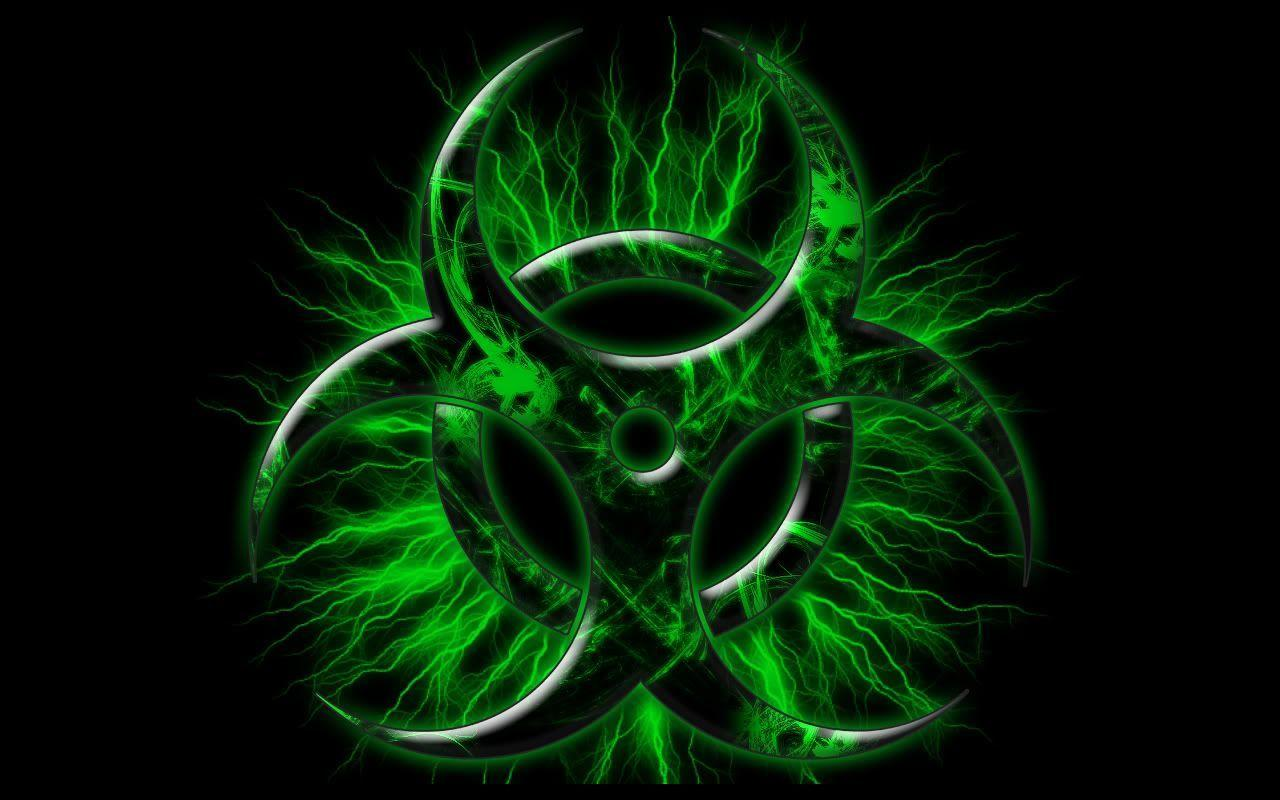 Radioactive Symbol Wallpapers 1280x800