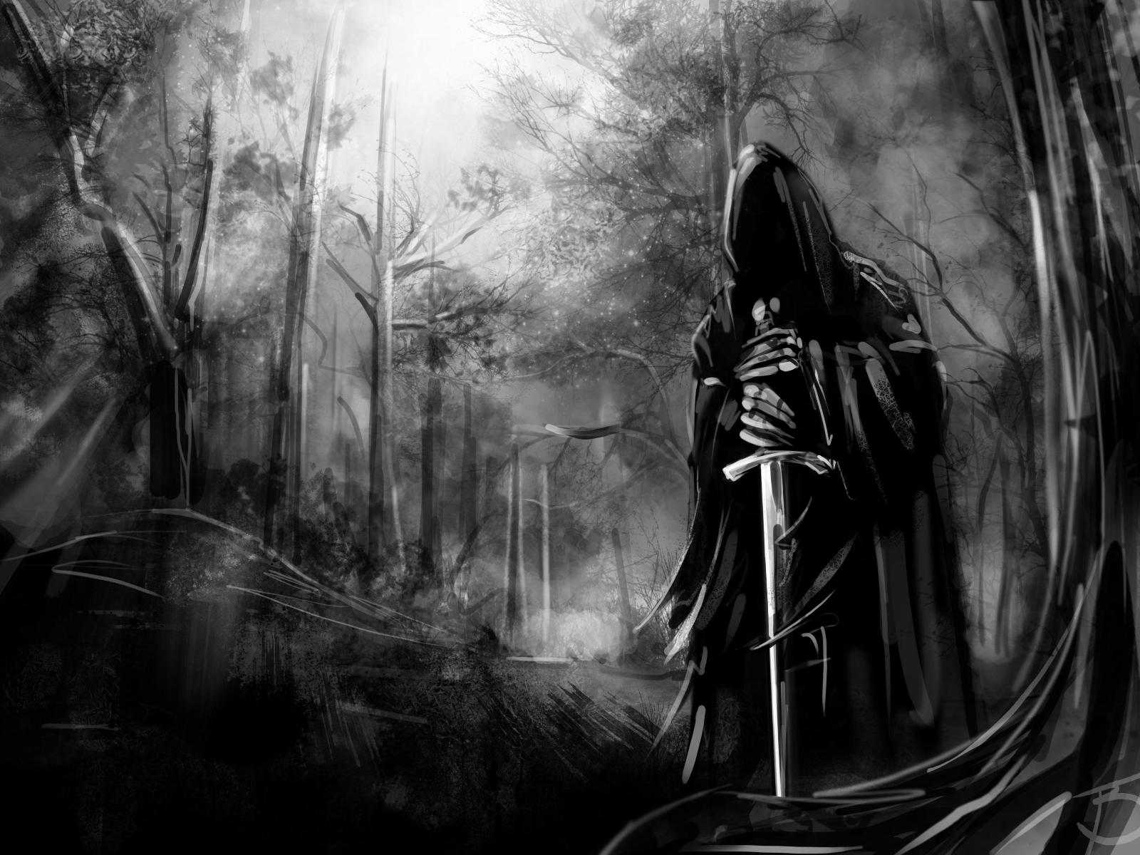 Scary Grim Reaper Wallpaper HD wallpaper background 1600x1200