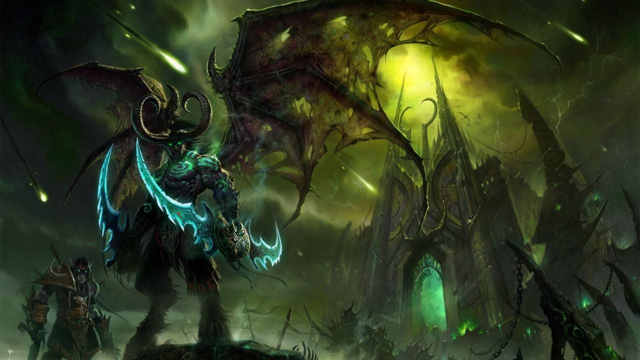 World Of Warcraft Legion Wallpaper Wallpapersafari