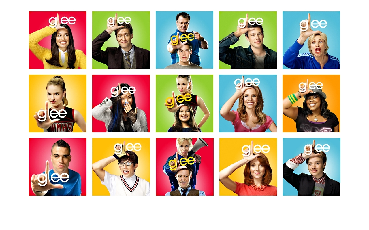 Glee Wallpaper   Glee Wallpaper 8088197 1280x800