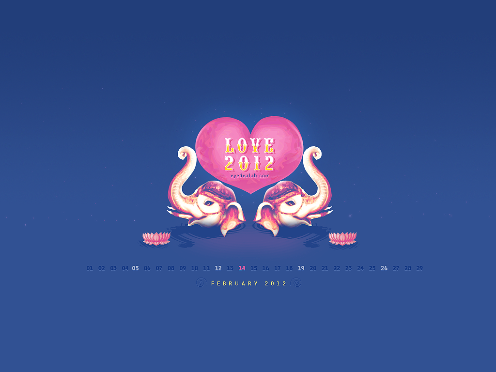february desktop wallpaper   weddingdressincom 1024x768