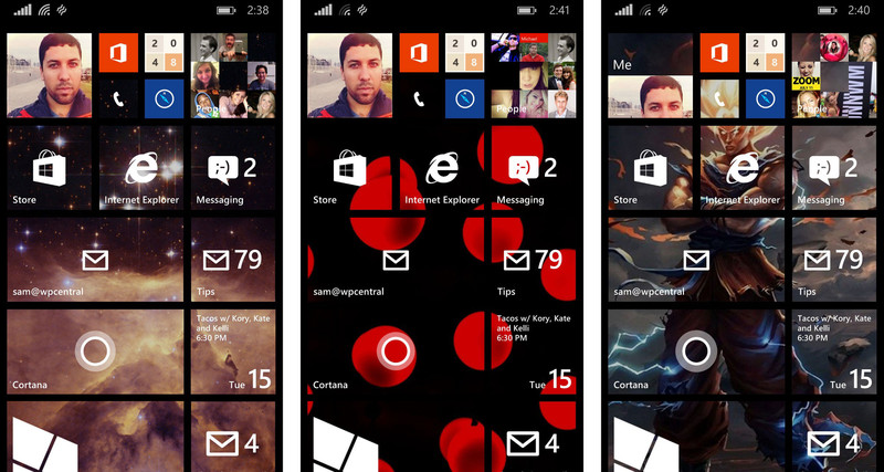 How to get beautiful Start backgrounds for Windows Phone 81 800x427