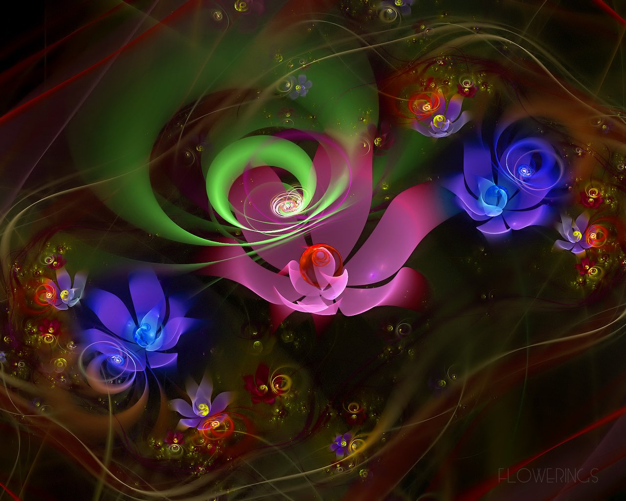 Free Colorful Flower Wallpaper Downloads: Free 3D Colorful Flowers Wallpaper