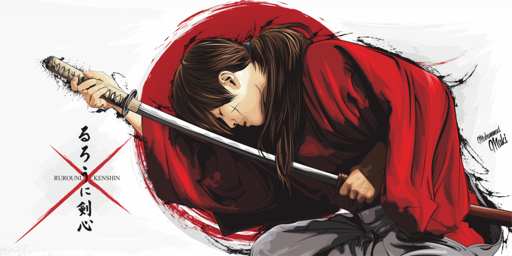 Wallpaper Samurai X Movie