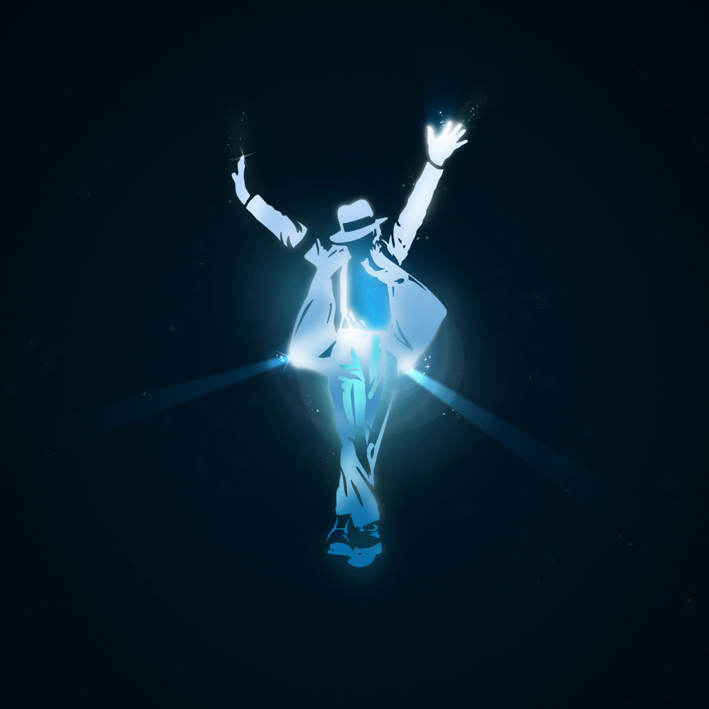 Michael Jackson Vector iPad 2 WallpaperVector iPad 2 Wallpaper 1024x1024