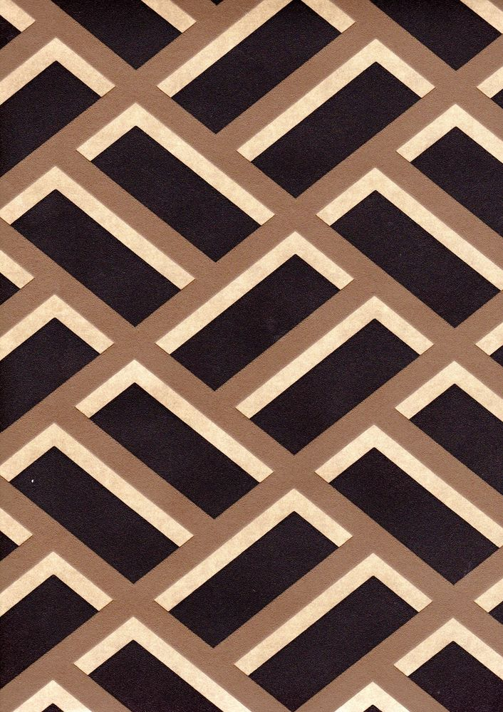 Michalsky Chocolate Brown Gold Geometric Wallpaper 93939 5 eBay 706x1000
