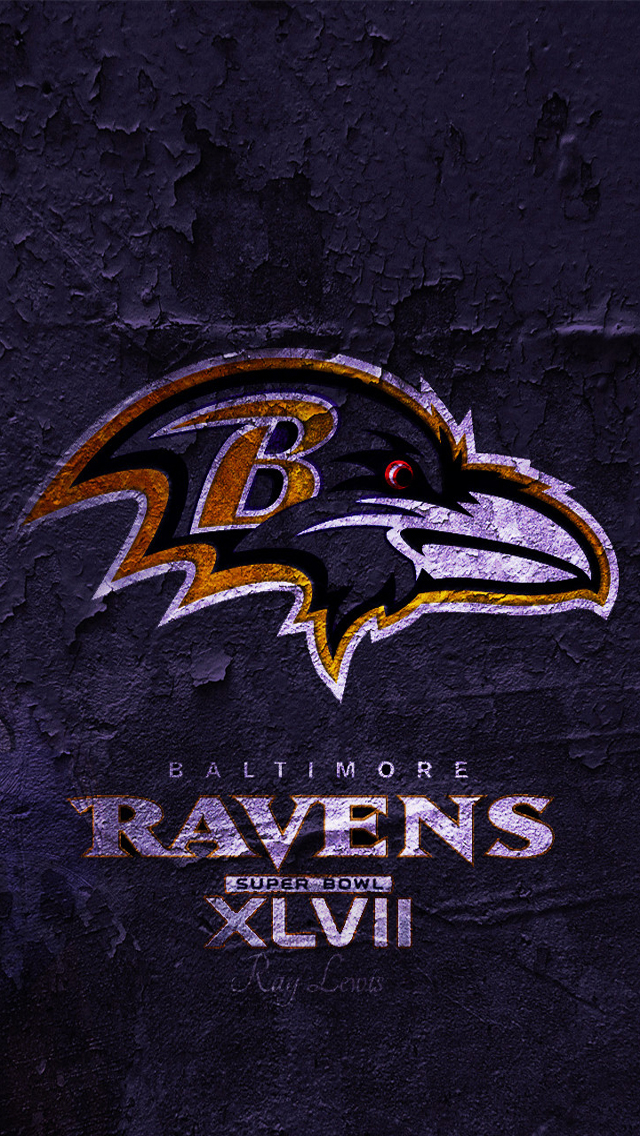 Bowl 2013   Download Baltimore Ravens HD Wallpapers for iPhone 5 640x1136
