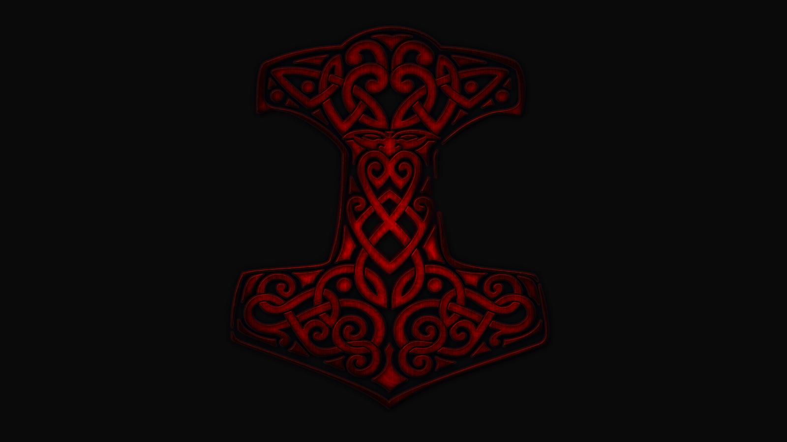 Thor's Hammer Wallpaper - WallpaperSafari