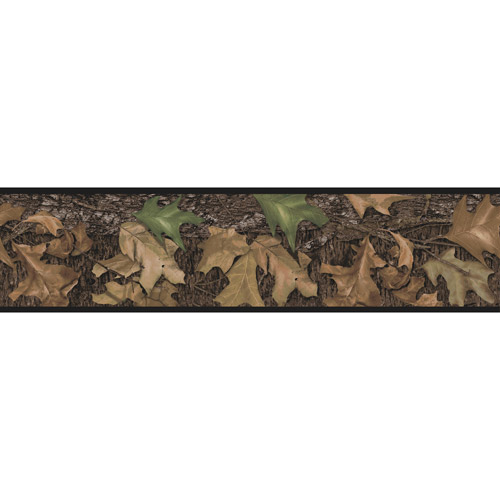 RoomMates Mossy Oak Camouflage Peel and Stick Border   Walmartcom 500x500