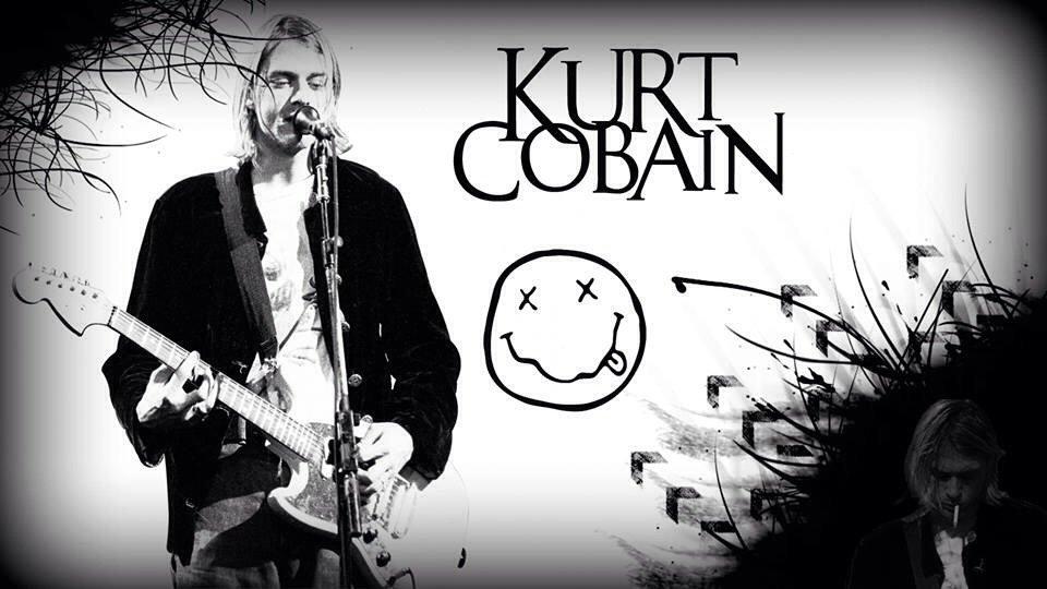 Kurt Cobain wallpaper I made a few months ago in class Nirvana 960x540