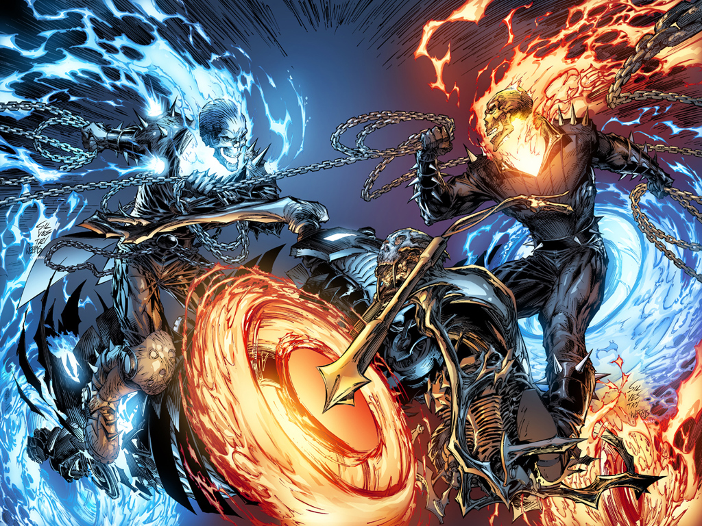Ghost Rider desktop wallpaper 1024x768