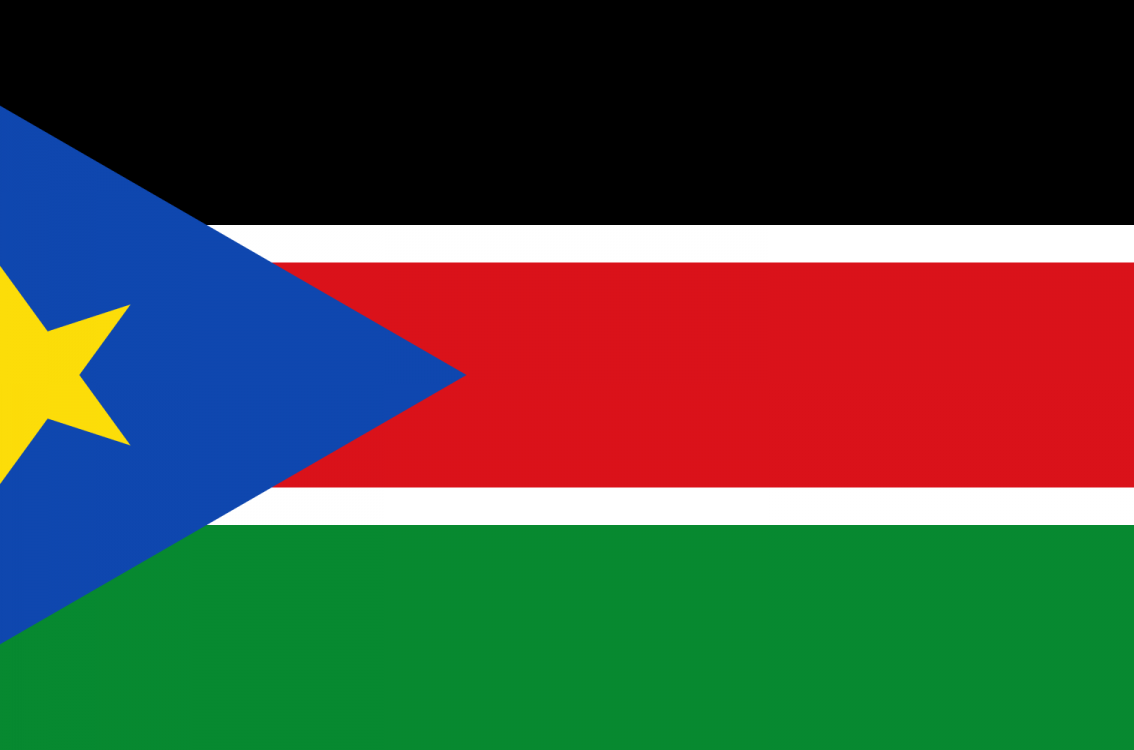 South Sudan Country Flag Wallpaper PaperPull 1134x750