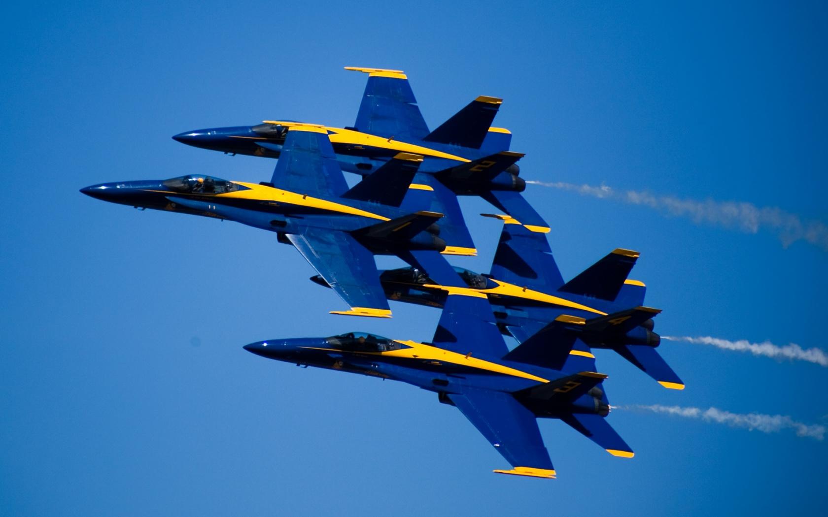 Blue Angels 1680x1050
