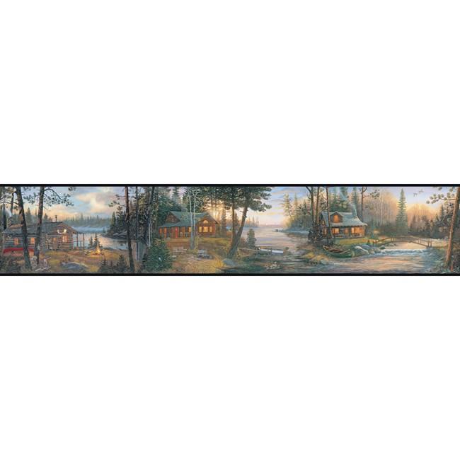 Cabin Fever Wallpaper Border 650x650