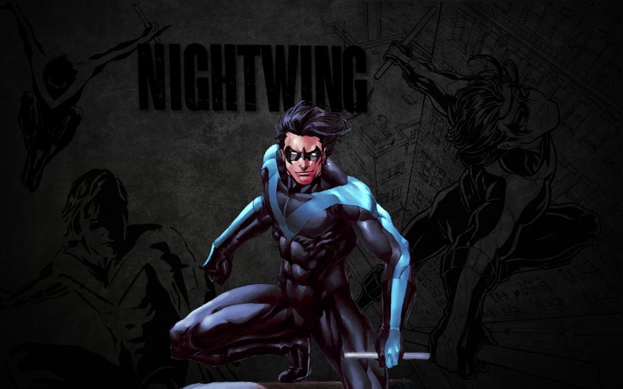 Nightwing Wallpaper Stud by Miggsy 900x563