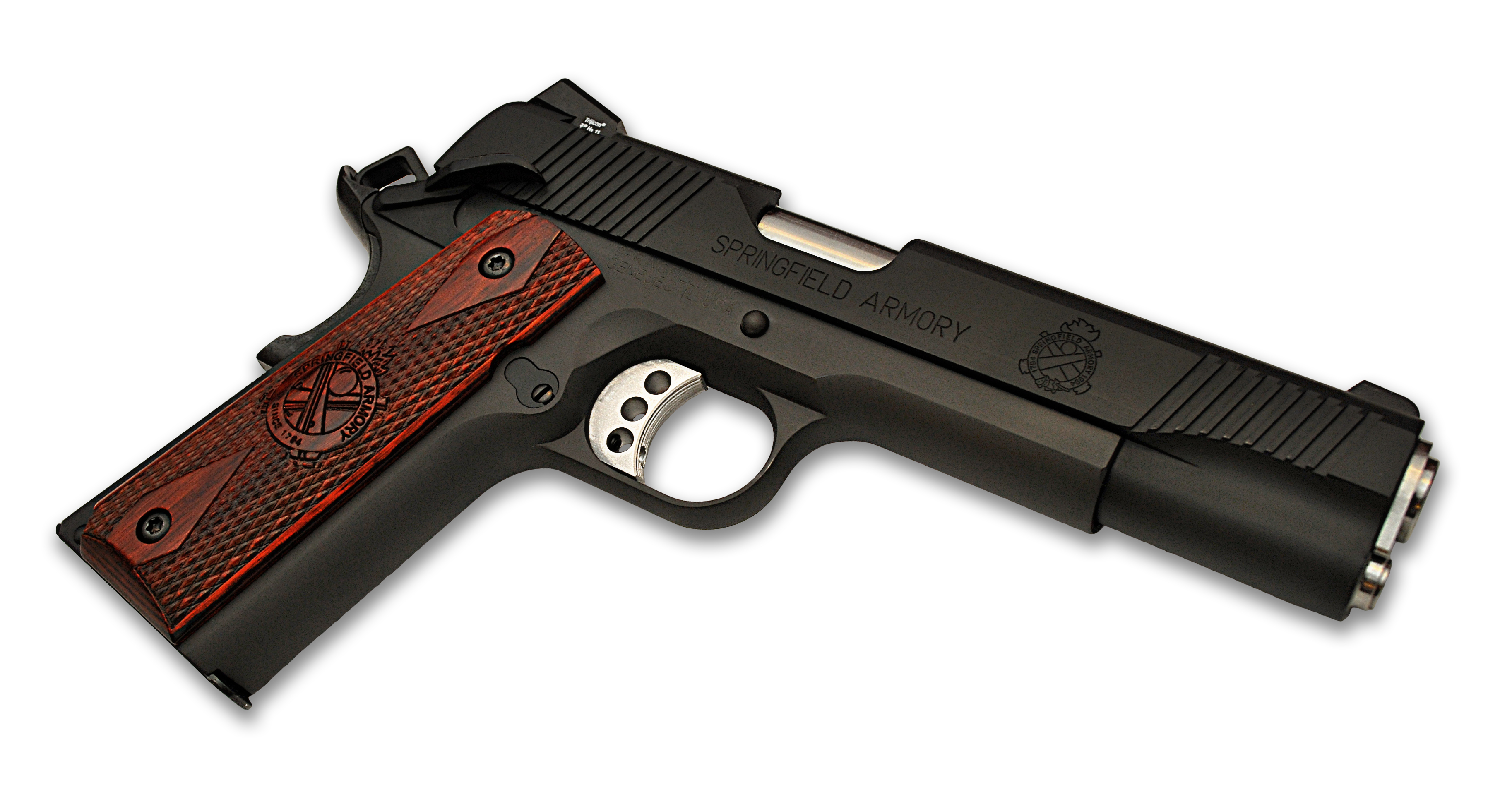 Weapons   Springfield Armory 1911 Pistol Wallpaper 3653x1914