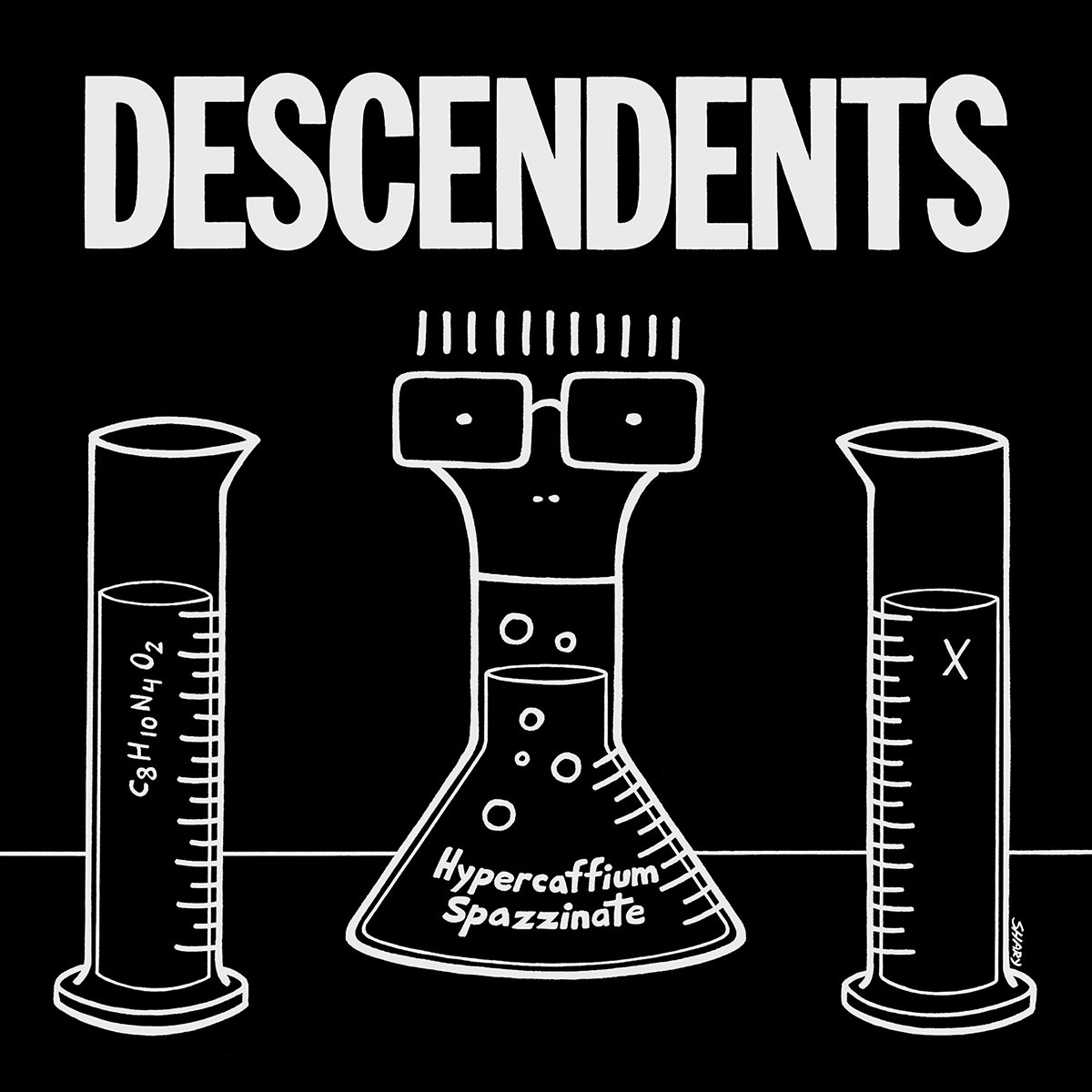 Something to talk about Punk rock band Descendents splash science 1200x1200