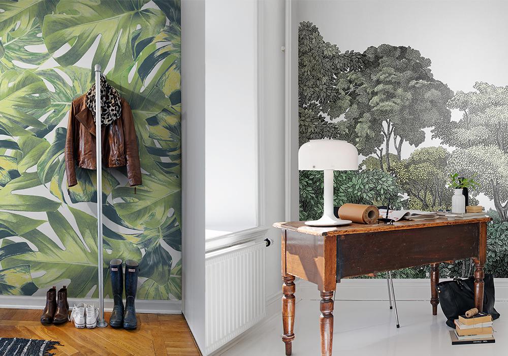 Botanic wallpaper by White Mica 1000x700