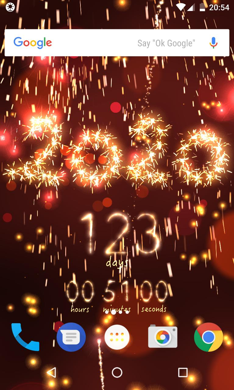 New Year 2020 countdown for Android   APK Download 768x1280