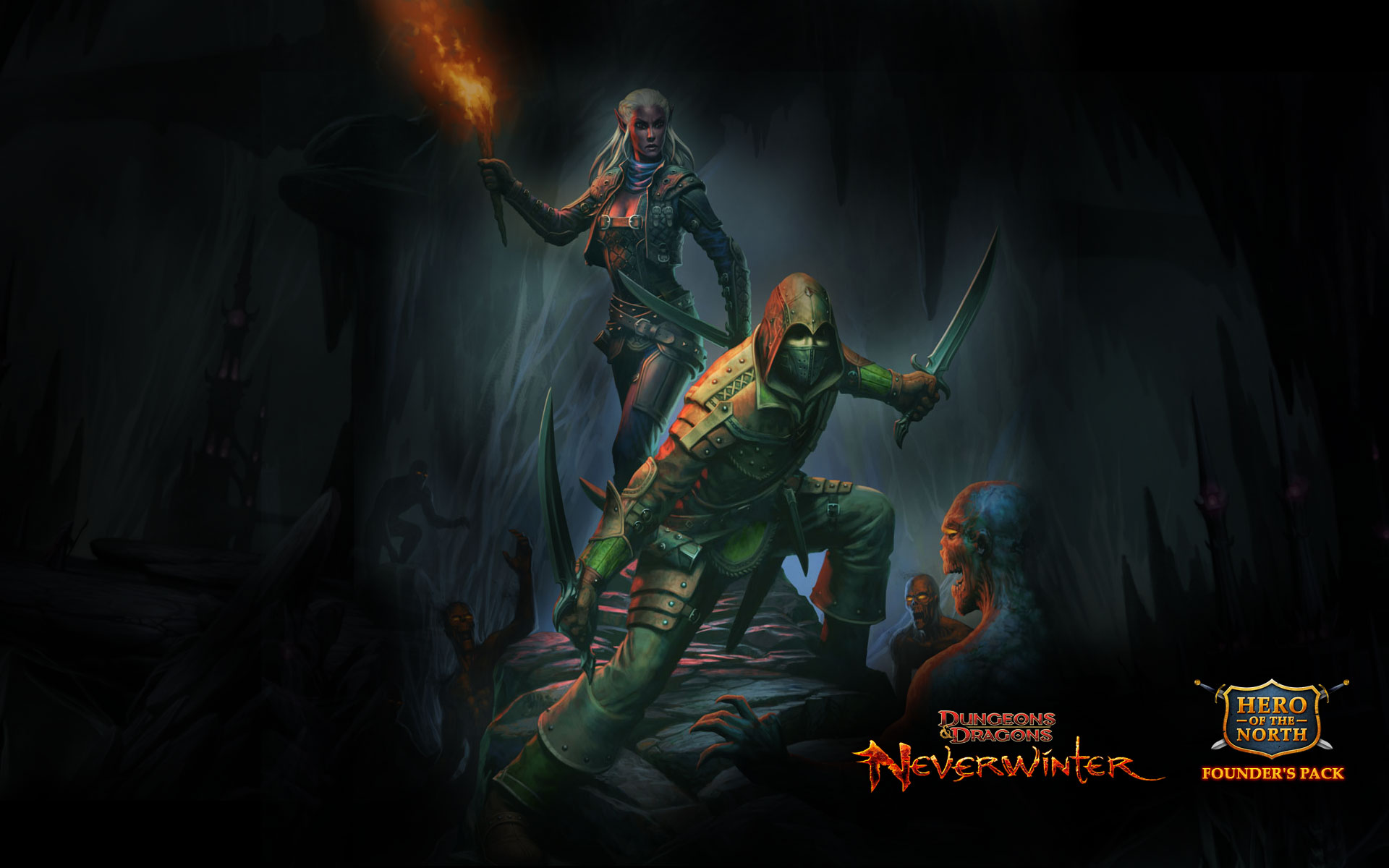 Dungeons And Dragons Wallpaper 1920x1080 Deadly trickster rogue 1920x1200