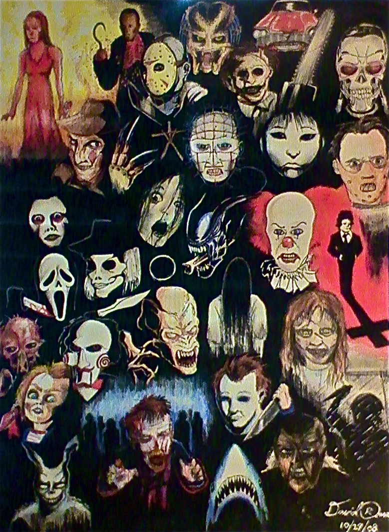 Horror movie icons by cinemamind 779x1064