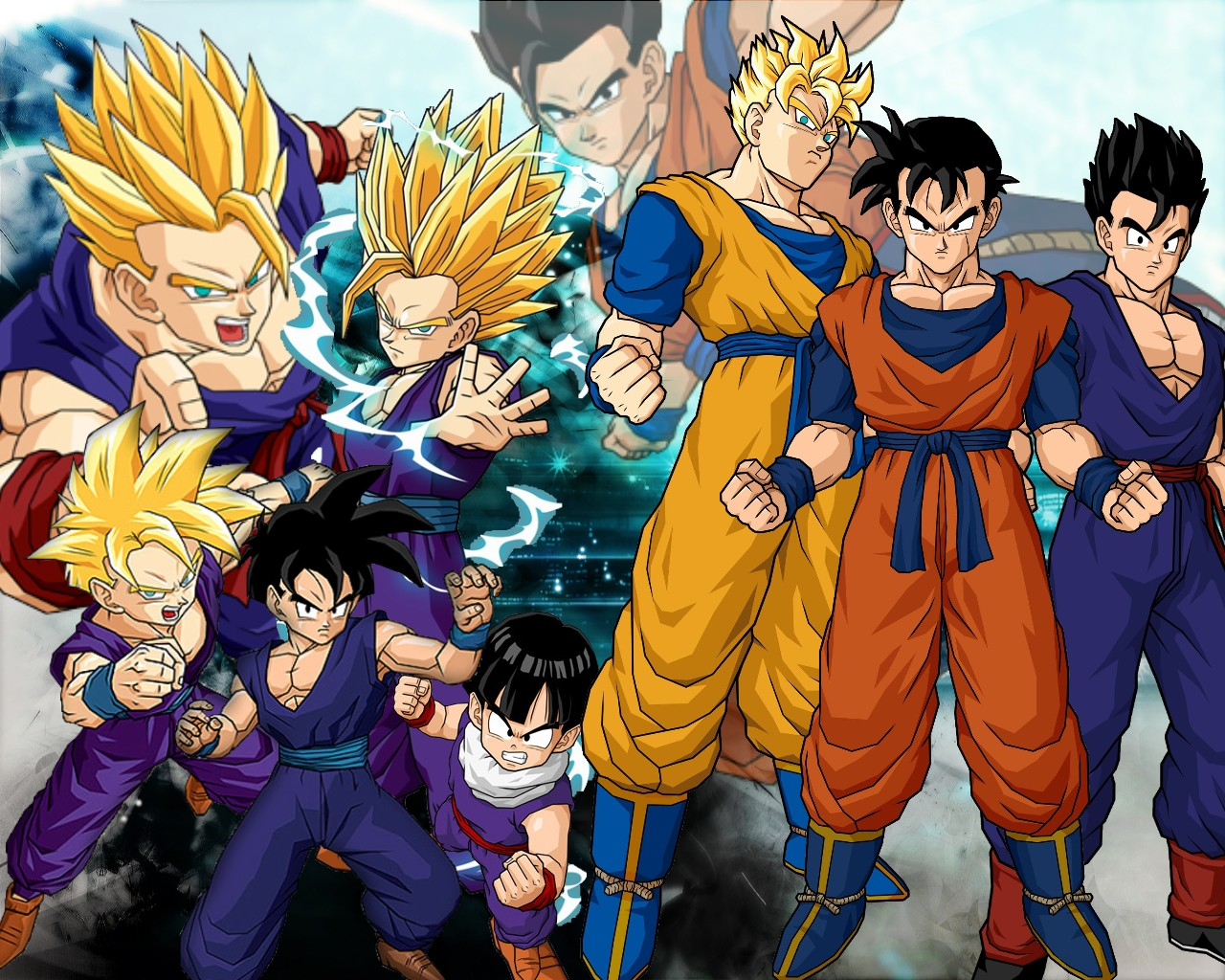 Wallpapers Exploration HD Gohan   Wallpaper 1280x1024