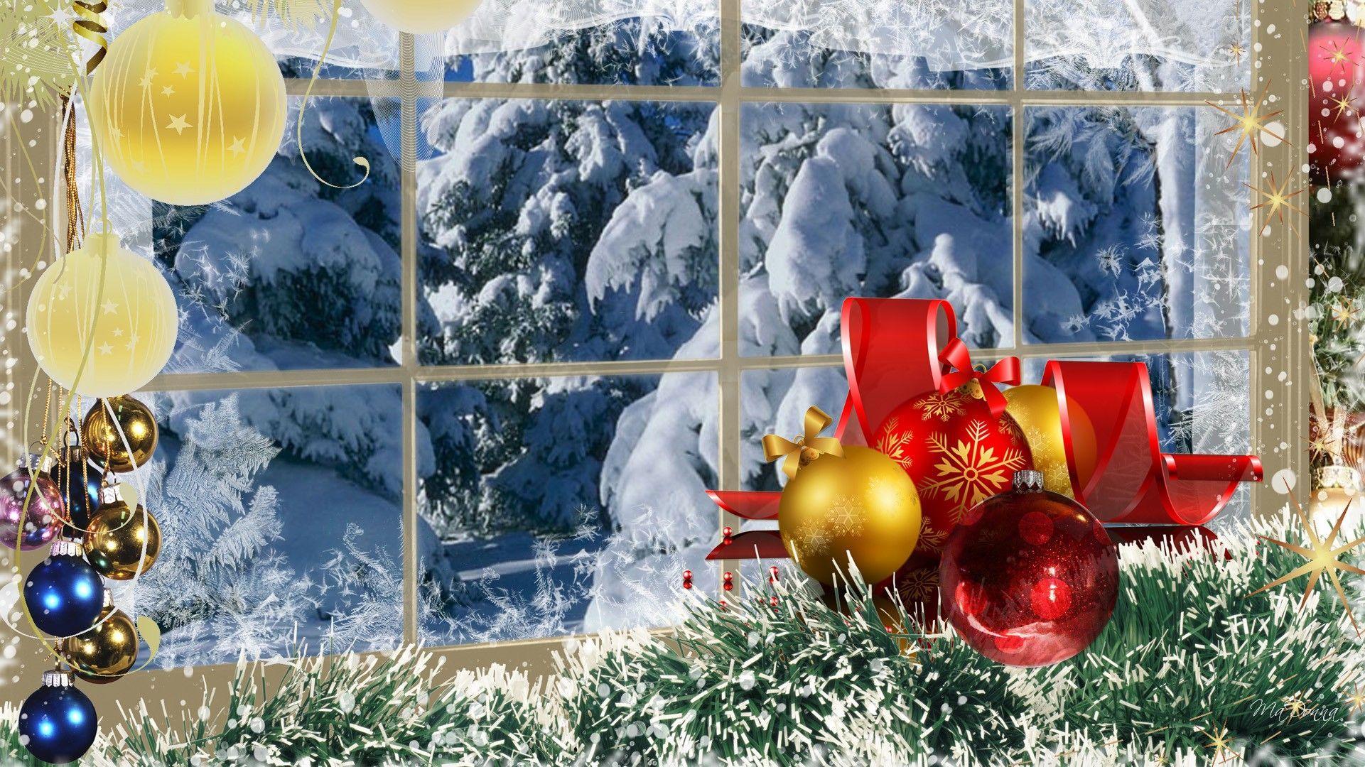 Christmas winter scenes wallpaper   SF Wallpaper 1921x1080