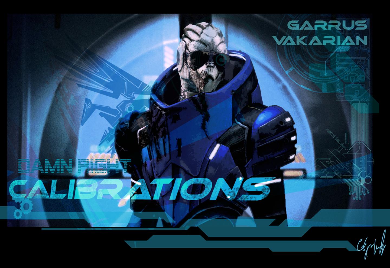 Garrus with Shades Wallpaper by Satanbanan on deviantART 1440x990