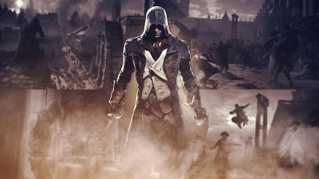 Assassins Creed UNITY Wallpaper 1440p by mastersebiX 1024x576