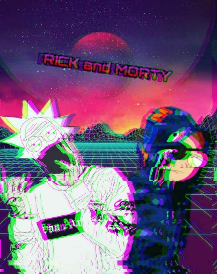 21 Supreme Rick And Morty Wallpapers On Wallpapersafari