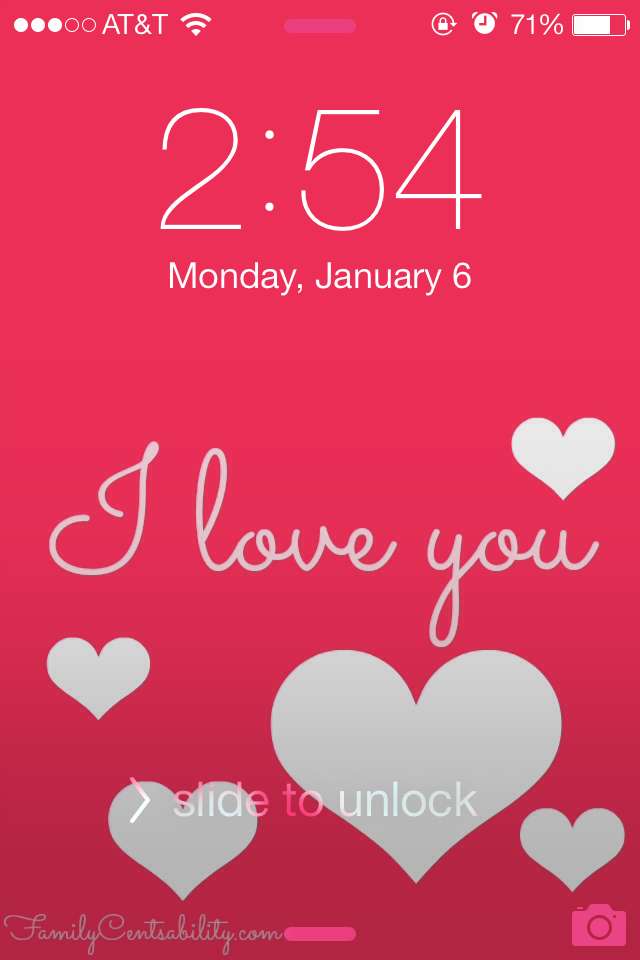 cute Valentines Day wallpaper on their cell phone Create your own or 640x960