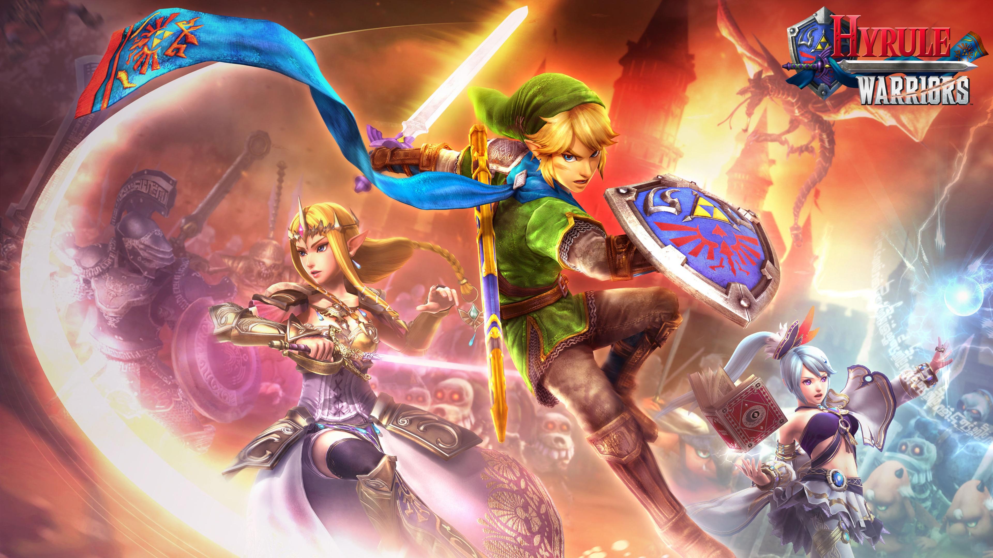 Hyrule Warriors Nintendo Wii U Game Wallpapers HD Wallpapers 3840x2160