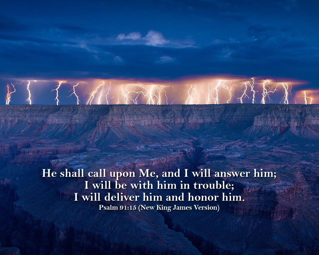 nkjv psalm 9115 wallpaperjpg 1280x1024