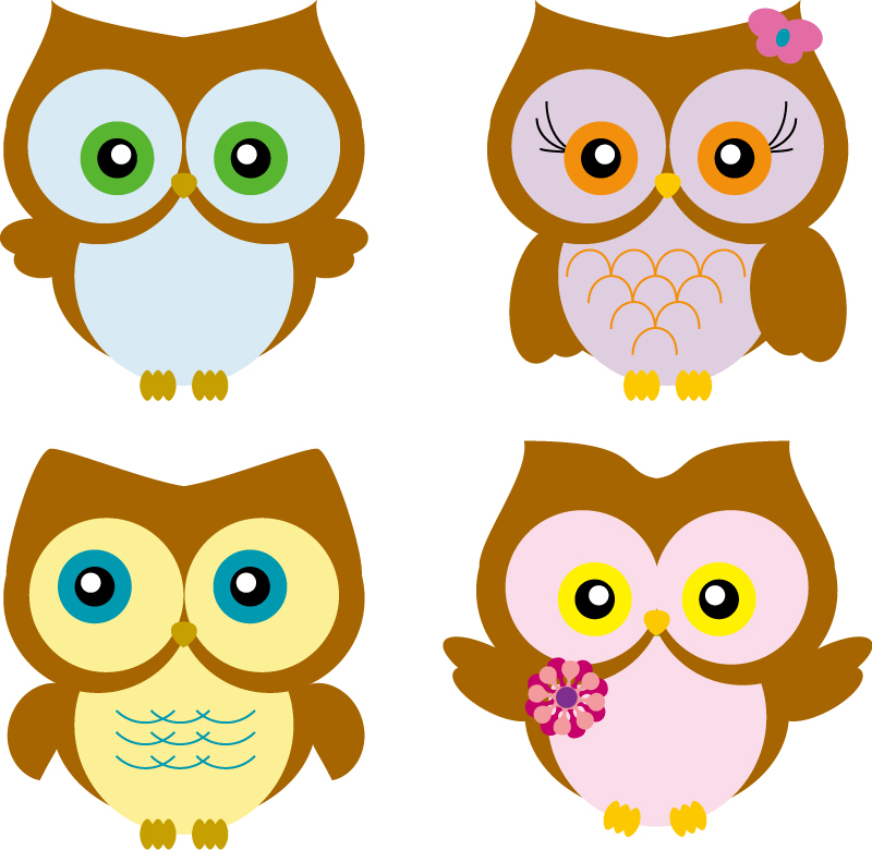 Cute Cartoon Owl Wallpaper - WallpaperSafari