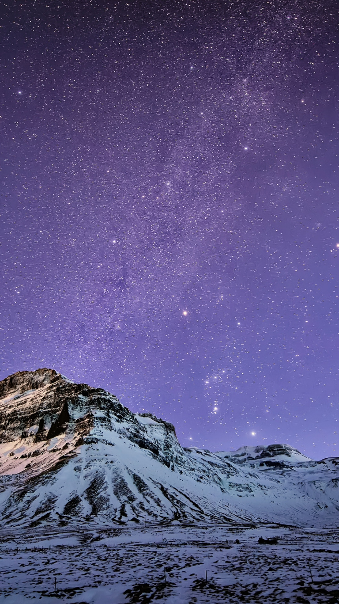 Snow Mountain Stars Wallpaper iPhone 6 Plus preview 1080x1920
