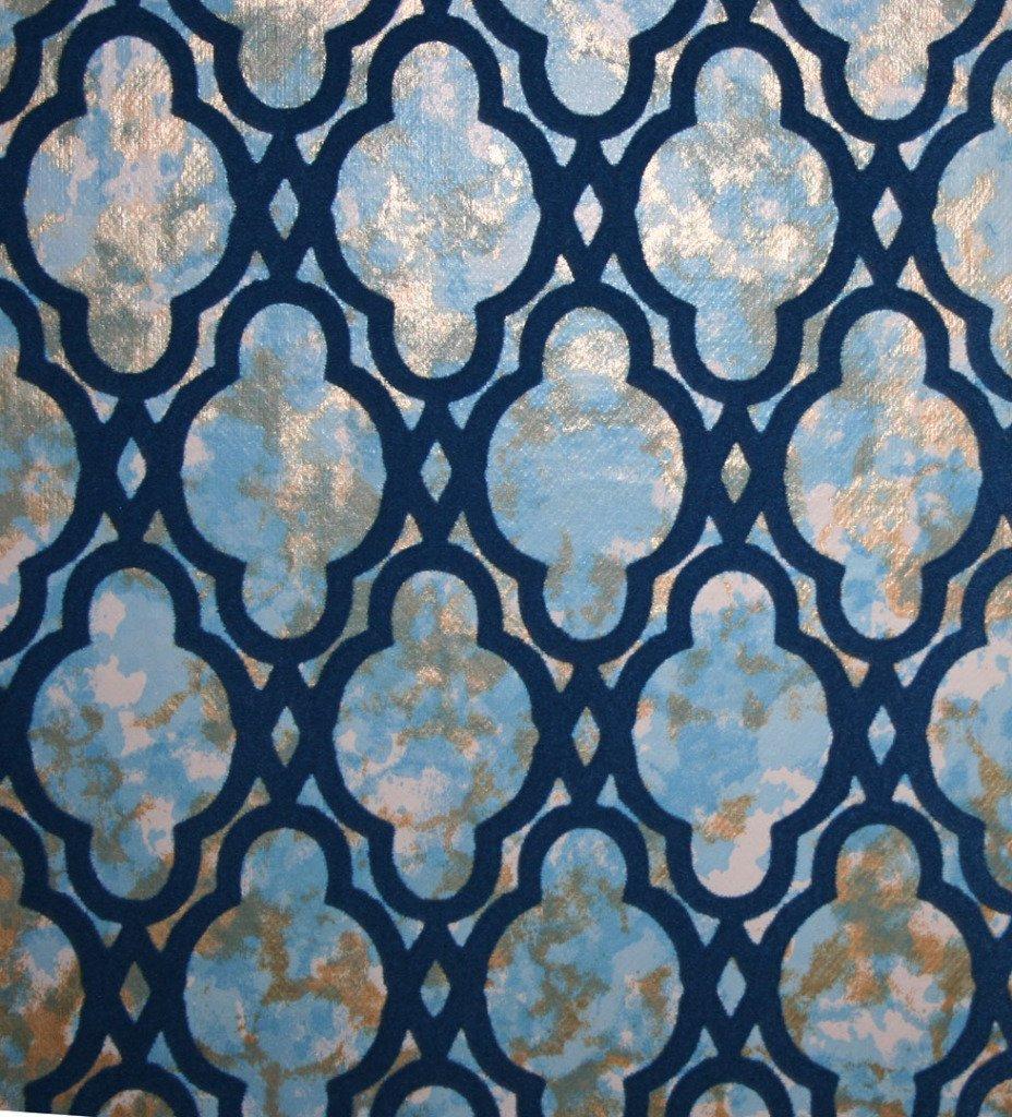mid century modern wallpaper patterns wallpapersafari. Black Bedroom Furniture Sets. Home Design Ideas