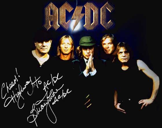 Rock Band Wallpapers ACDC Wallpaper 560x444
