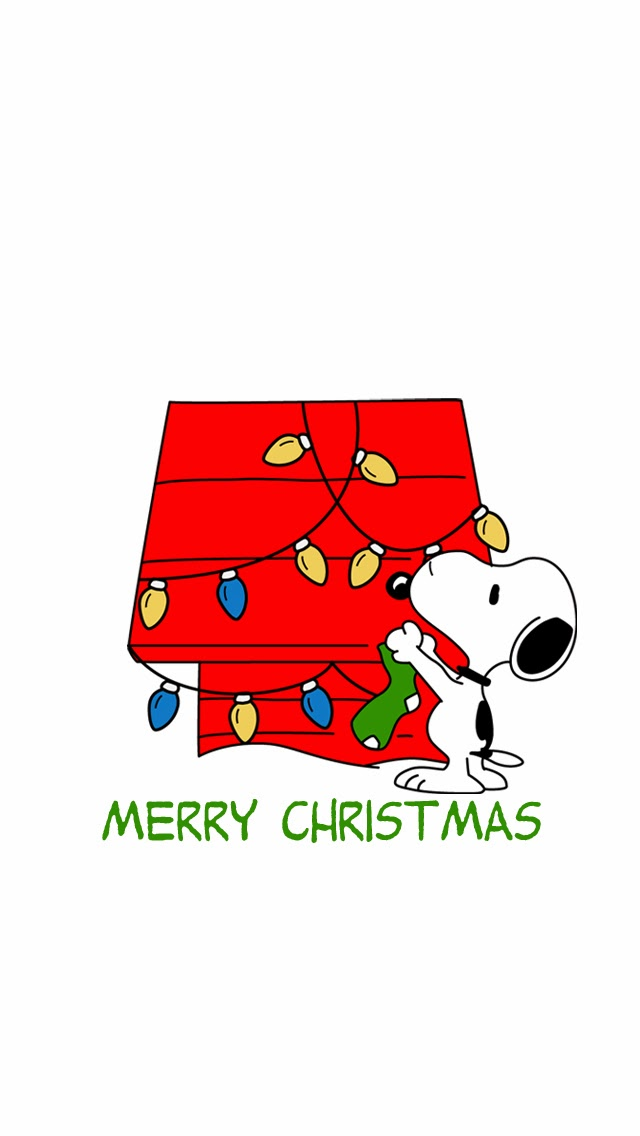Sweet Nothings Snoopy Christmas iPhone 5 Wallpaper Download 640x1136