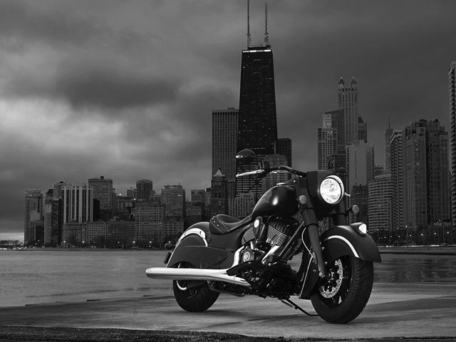 The Indian Chief Dark Horse is the first motorcycle to be launched by 640x480