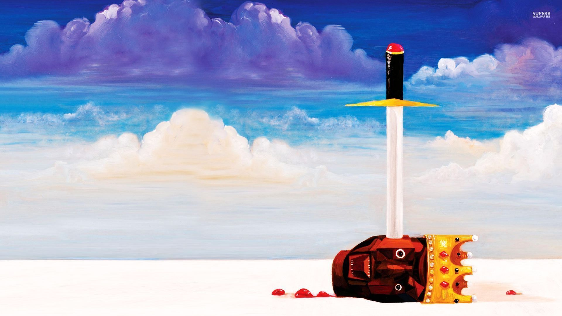 My Beautiful Dark Twisted Fantasy Wallpaper 80 images in 1920x1080