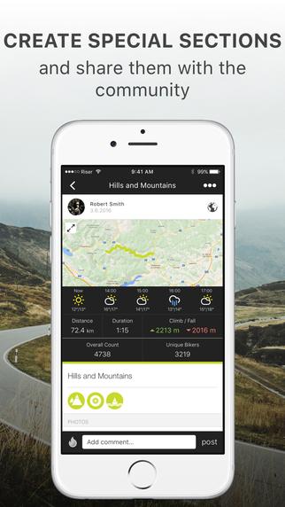 RISER Biker Network on the App Store 322x572
