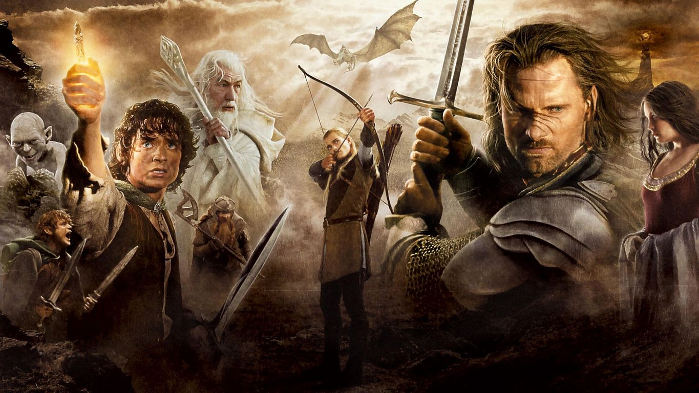 Lord of the Rings wallpaper 17275 1365x768