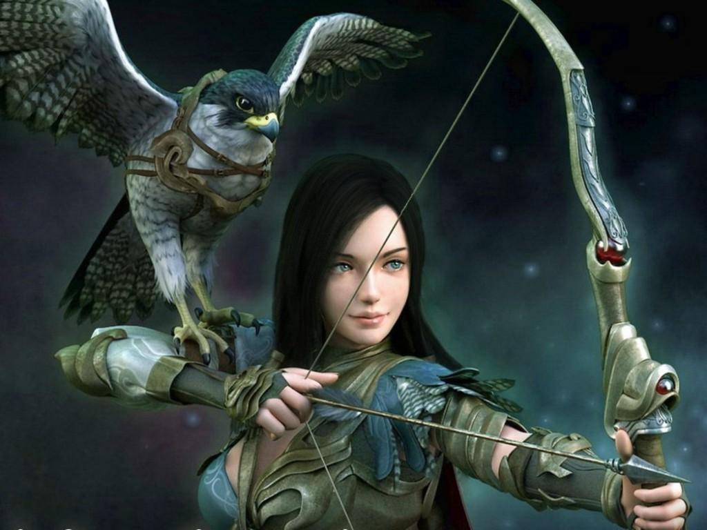 Elf Fighter Fantasy Art